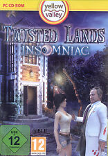 PC CD-ROM + Twisted Lands Insomniac + Abenteuer + Wimmelbild + Win 8