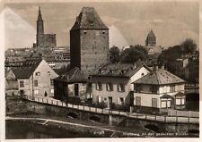 10995/ Foto  AK, Straßburg, An den gedeckten Brücken, 1941