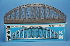 M&B Marklin HO 7263 Arch Bridge section M + K track 36 cm