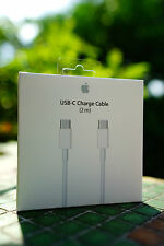 """Genuine Apple 2M USB-C 3.1 Charge Cable For New Macbook 12"""" 29W Power Adapter"""