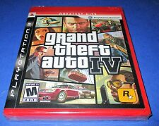 Grand Theft Auto IV Sony PlayStation 3 - PS3 - Factory Sealed! Free Shipping!