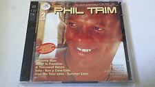 """PHIL TRIM """"SUS MEJORES GRABACIONES EN DISCOS ZAFIRO"""" 2 CD 32 TRACKS COMO NUEVO"""