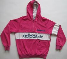 Adidas 1980s New York made in West Germany hooded track top jacket vintage L D52
