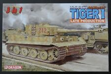 Dragon 1/35 German Pz.Kpfw. VI Ausf. E Sd.Kfz.181 TIGER I Late * 3 in 1 #6253