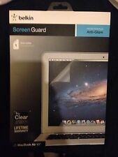 "Apple Macbook Air 13"" Anti Glare Screen Guard Protector New Seald Uk"