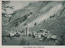 1938  --  VILLAGE DE VAL D ISERE   3F563