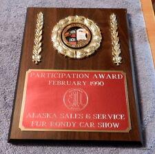 1990 ANCHORAGE Fur RONDY Car Show Anchorage Corvette Association Alaska
