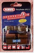 Türzylinder ABUS XP 2 S 30/30 mit Sicherungskarte , Not- und Gefahrenfunktion