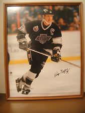 Wayne Gretzky Los Angeles Kings Authentic Signed 16 X 20 Hockey the Great One!
