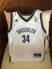 PAUL PIERCE #34 BROOKLYN NETS NBA ADIDAS SWINGMAN JERSEY Size L 7/6X Kids