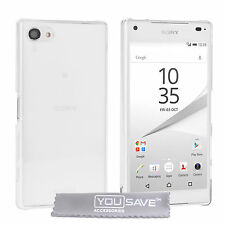 Yousave Accessories Sony Xperia Z5 Compact Crystal Clear Hard Phone Case Cover