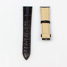 New Jaeger-LeCoultre Dark Brown Alligator Strap 20mm x 16mm