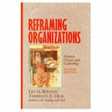 Reframing Organizations: Artistry, Choice, and Leadership (Jossey-Bass-ExLibrary