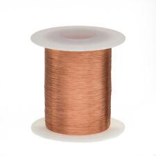 "40 AWG Gauge Enameled Copper Magnet Wire 8oz 16609' Length 0.0034"" 155C Natural"