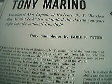 news item 1959 article wrestler tony marino barefoot boy