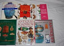 Antique Roadshow Encyclopedia Guide Book Lot of 6 Millers Investigator Primer