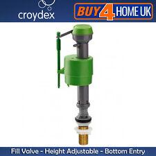 1/2 Reino Unido Latón Inferior Entrada entrada de caña llenar válvula de flotador Altura Ajustable Croydex
