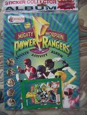 Mighty Morphin Power Rangers Sticker Activity Album New and Sealed Merlin