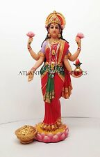 HINDU GODDESS OF WEALTH PROSPERITY LAKSHMI STATUE DEITY OF BEAUTY