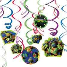 Teenage Mutant Ninja Turtles Birthday Party Swirl Decorations 12ct