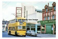 pt7800 - Bournemouth Trolleybus no 243 - photograph 6x4