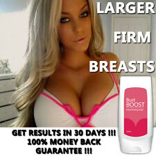 Busto Boost BREAST ALLARGAMENTO Crema crescere BIG Rimbalzante Boobs COMPLETO scollatura