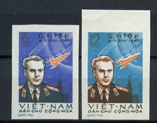 NORTH Vietnam 1961 SG #N 185-6, 2nd navetta spaziale volo Imperf MNH Set #A 60312
