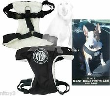 American Kennel Club 2-in-1 Seat Belt-Leash Harness Medium