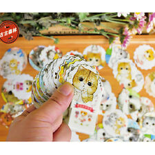 40pc Paper Masking Sticker Cute Cat Deco DIY Craft Gift Lable Scrapbook Seal Tag