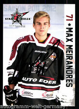Max Meirandres Star Bulls Rosenheim TOP AK Orig. Sign. Eishockey +A 58364