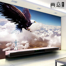 3D Sitting room the bedroom TV background eagle wallpaper 2436