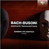 J.S. BACH & BUSONI: COMPLETE TRANSCRIPTIONS NEW & SEALED