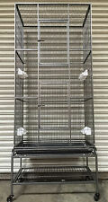 Extra Large Tall 3 Level WROUGHT IRON Ferret Chinchilla Sugar Glider Cage 527