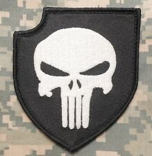 PUNISHER ACT OF VALOR GITD TACTICAL SEALS TEAM SWAT VELCRO® BRAND FASTENER PATCH