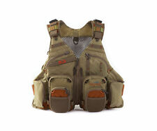 NEW FISHPOND GORE RANGE FLY FISHING TECH VEST DRIFTWOOD FREE WATERLOG BLADDER