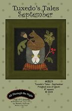 TUXEDO'S TALES-SEPTEMBER QUILT PATTERN, From All Through The Night NEW