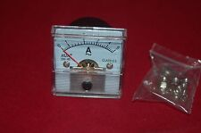 1PC AC 0-5A Analog Ammeter Panel AMP Current Meter DH45 45*45mm directly Connect