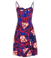 ALANNAH HILL ESSENCE FOR LOVE! SILK FLORAL GRAPHIC DRESS SIZE 12 RRP $289