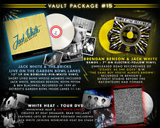 "THIRD MAN VAULT ""15 Jack White 12 Inch white VINYL + 7 Inch VINYL Colored + DVD"