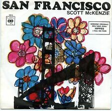 "SCOTT McKENZIE SAN FRANCISCO WHAT'S THE DIFFERENCE 7"" ITALY 1967 M-"