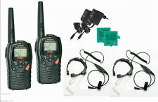 COPPIA INTEK MT3030 CON GOLA Mics VOX PMR446 and LPD libero uso radio-WALKIE