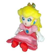 Princess Peach Plush 8in New Nintendo Super Mario Bros Sanei Toy Doll Pink