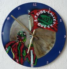 A TRIBE CALLED QUEST inspired clock.TuPac.cyprus hill.prodigy.bob marley.pop art