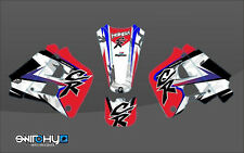 KIT ADESIVI GRAFICHE EASY CAMO SWITCHY HONDA CR 250 1990 1991 DECALS DEKOR