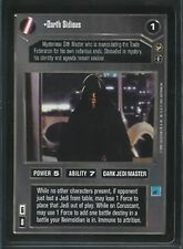 Star Wars CCG Theed Palace Rare Darth Sidious