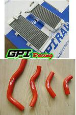 Aluminum Radiator &hose Honda CRF 450X CRF450X 05-16 14 13 12 11 10 09 08 07 06