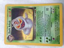 Dark Arbok Holo Individual Pokemon Card 2/82 1999-2000
