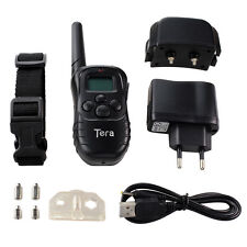 Tera 300M Electric Shock Pet Dog Training Remote Control E-Collar Rechargeable