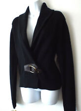 NEW***RALPH LAUREN Sz L knit CARDIGAN black!!