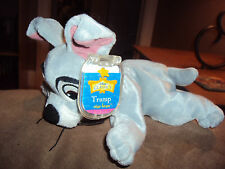 Dog Disney Classic Lady & The Tramp Stuffed Plush Star Bean Bag Mattel Arcotoys